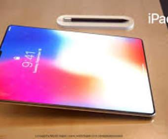 Apple iPad Pro 2018 может напоминать iPhone X