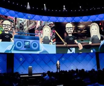 Компания Facebook интегрировала виртуальную реальность в свою социальную сеть