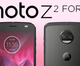 Стартовали продажи сверхпрочного флагмана Motorola Moto Z2 Force