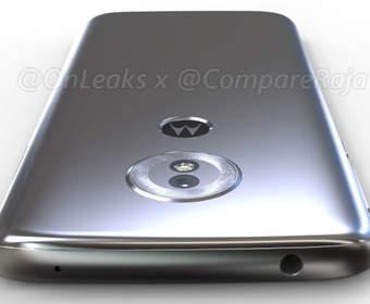 Появились рендеры Moto G6 Play