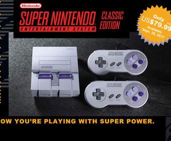 Nintendo продала четыре миллиона классических версий SNES