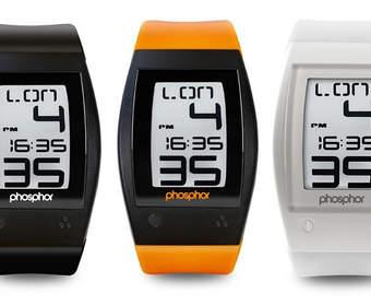 World Time Sport Watch – спортивные часы с E Ink-тачскрином от Phosphor