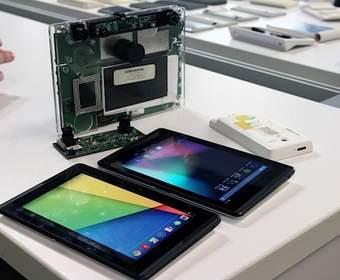 Google представила планшет Project Tango