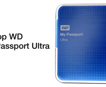 Обзор внешнего жесткого диска WD My Passport Ultra