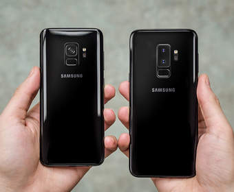 Появились фото официальных чехлов для Samsung Galaxy S9/S9+