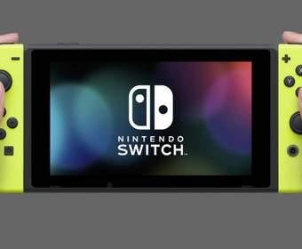 Nintendo продала более 10 миллионов консолей Switch