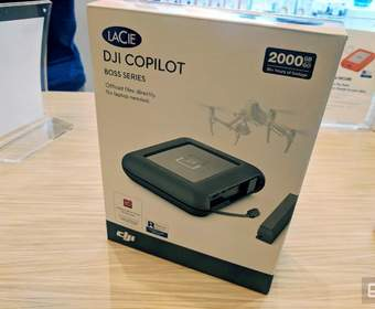 DJI Copilot от Lacie - идеальный портативный жесткий диск для видеопрофессионалов