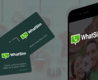 SIM-карта WhatSim позволяет бесплатно использовать мессенджер WhatsApp в роуминге