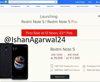 Появились цены на Xiaomi Redmi Note 5 и Redmi Note 5 Pro