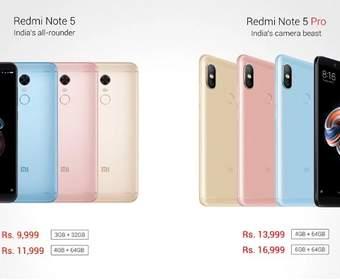 Xiaomi Redmi Note 5 vs Redmi Note 5 Pro: Каковы их отличия?