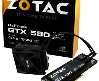 Zotac представила видеокарту GeForce GTX 580 Infinity Edition