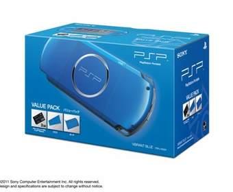 Sony сделала анонс новой тройки PSP Value Pack