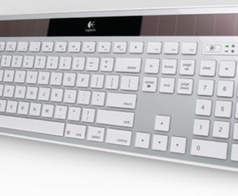 Logitech Wireless Solar Keyboard K750 - новая версия клавиатуры от Apple