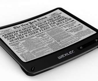 Гибкое чтение: скоро можно будет купить электронную книгу WEXLER.BOOK Flex ONE